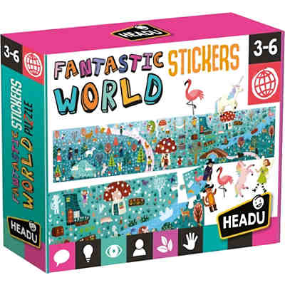 Stickerpuzzle Fantastic