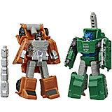 "Трансформеры Transformers ""Микромастер Офрайз"" Бомбшок и Гроул"