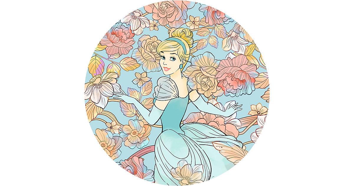"Vlies Fototapete ""Cinderella Pastel Dreams"" - Ø 125 cm bunt"