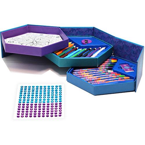 """Шкатулка-мозаика Origami """"Чудо - шкатулка"""" с карандашами и мелками от Origami"""