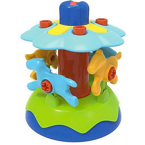 Конструктор Edu-Toys Карусель, 38 деталей от Edu-Toys