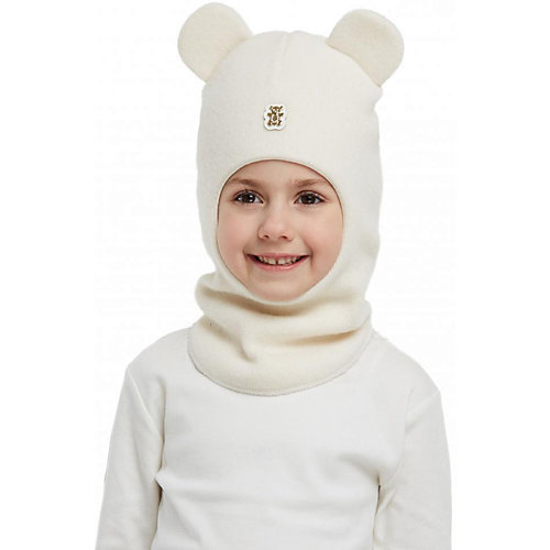 Шапка-шлем Kotik Патти - белый от Kotik