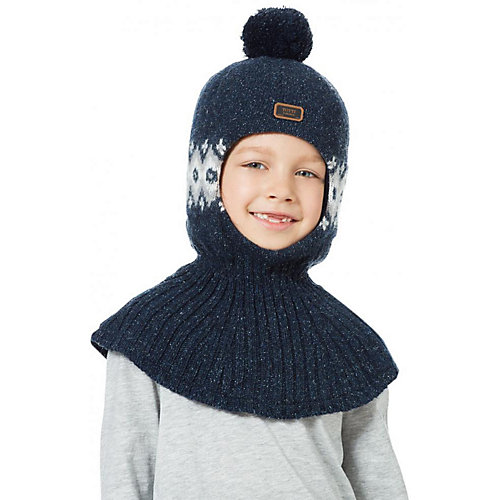 Шапка-шлем Kotik Порт - синий от Kotik