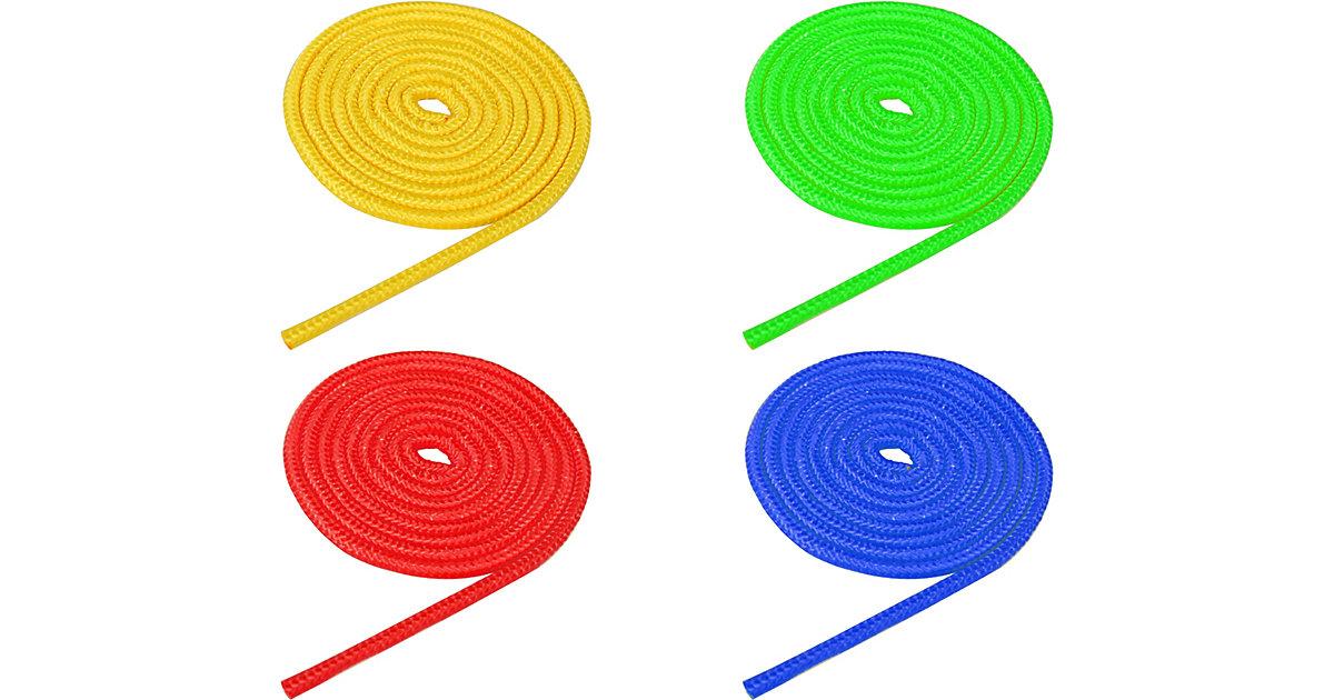 Universalseil 4er Set (gelb-blau-grün-rot), je 250 cm bunt