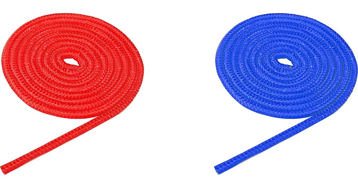 Universalseil 2er Set blau/rot, je 250 cm