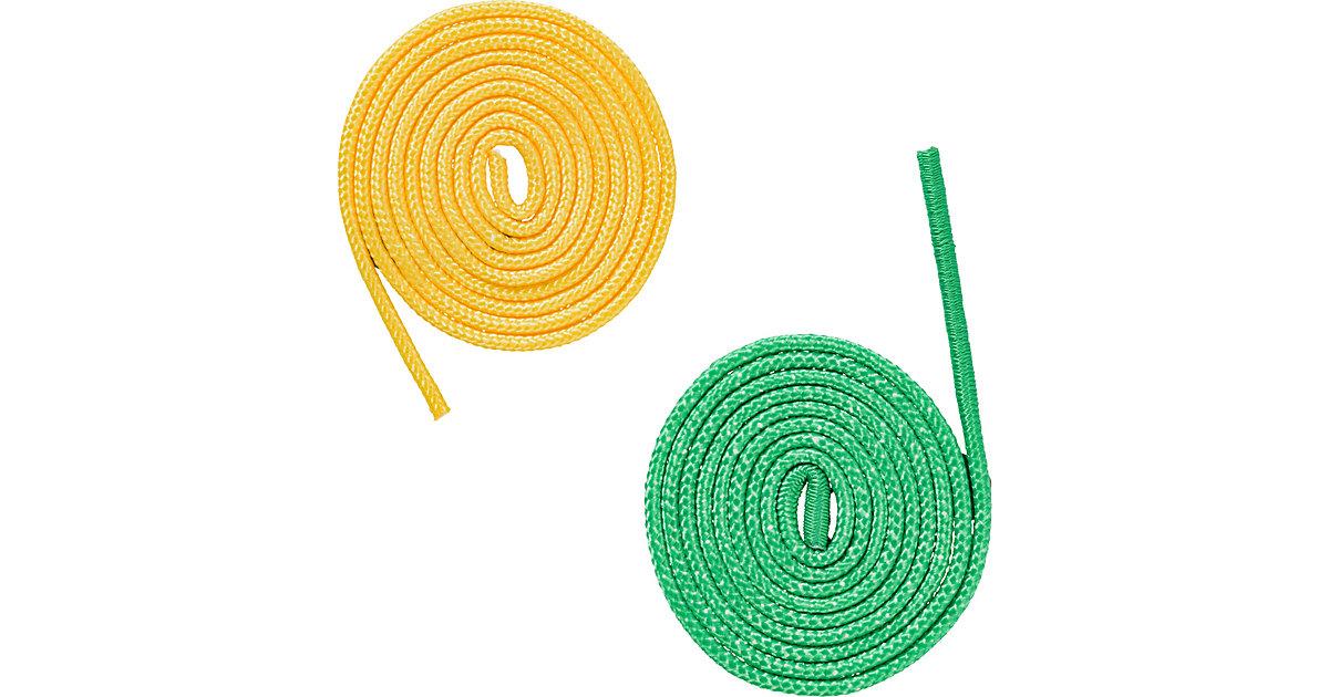 Universalseil 2er Set gelb/grün, je 250 cm grün/gelb