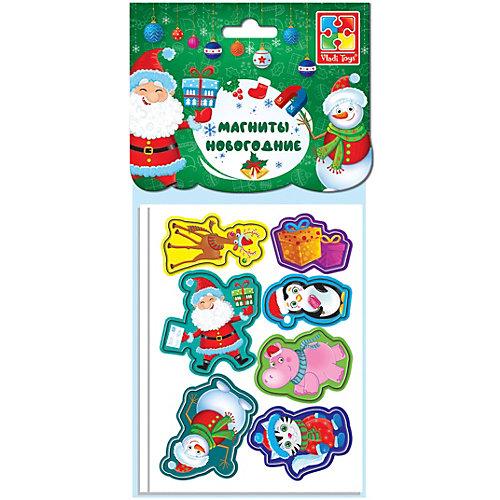 Набор мягких магнитов Vladi Toys Весёлая компания, 13 шт от Vladi Toys