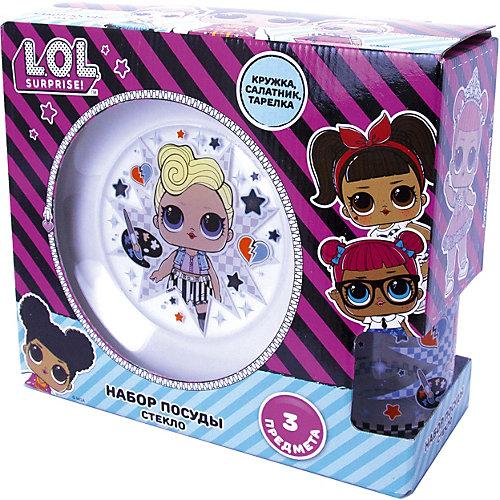 Набор посуды L.O.L.Surprise Dollsaregogo, 3 предмета от ND Play