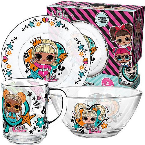 Набор посуды L.O.L.Surprise WhatUnitesUs, 3 предмета от ND Play