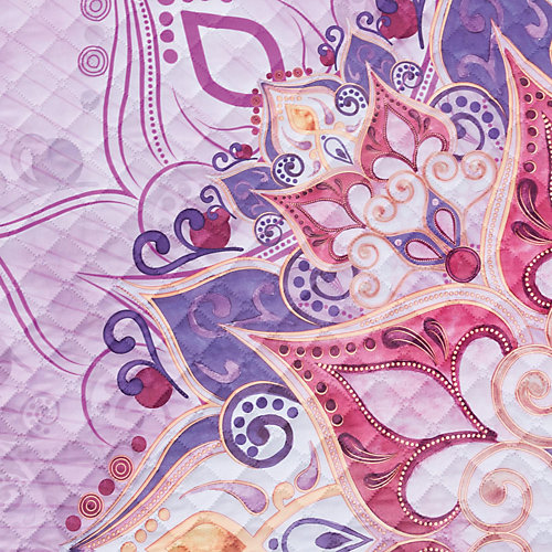 Покрывало Этель Mandala, 180х220 см - сиреневый от Этель