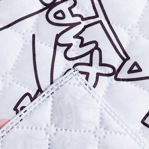 Покрывало Этель Xmas cat, 230х210 см - белый