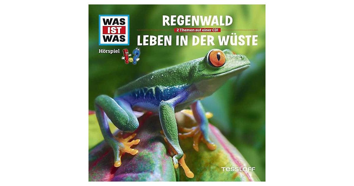 CD Was ist Was 24 (Der Regenwald/Wüsten) Hörbuch