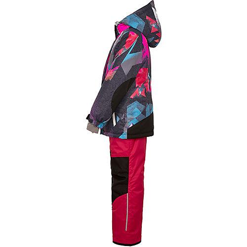 Комплект Oldos Пенелопа: куртка и полукомбинезон - розовый