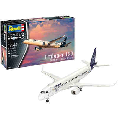 Embraer 190 Lufthansa New Livery 1:144