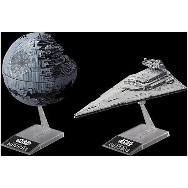 Bandai Star Wars Death Star II + Imperial Star Destroyer