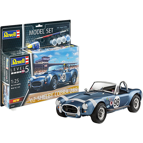 Model Set '62 Shelby Cobra 289 1:25