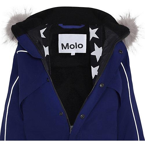 Утеплённый комбинезон Molo - синий