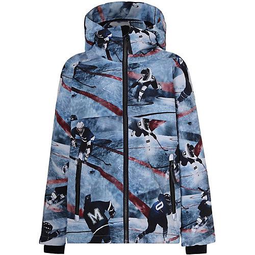 Утеплённая куртка Molo - голубой