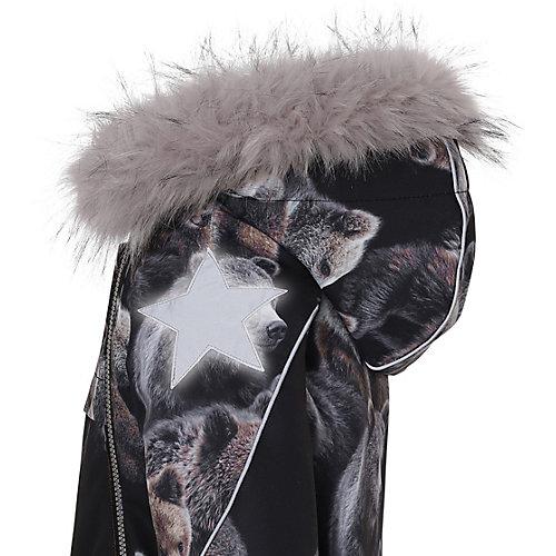 Утеплённая куртка Molo - коричневый