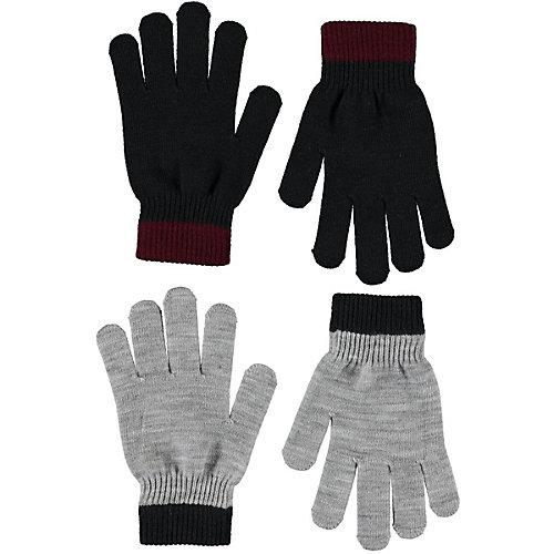 Перчатки Molo, 2 пары - черный