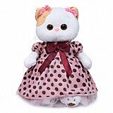 Мягкая игрушка Budi Basa Кошечка Ли-Ли в розовом платье в горох, 27 см