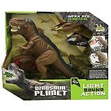 Радиоуправляемый динозавр RH Тираннозавр, с паром