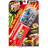 Машинка Moose Boom City Racers Fire it up, 2 шт