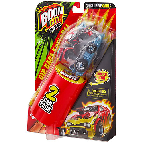 Машинка Moose Boom City Racers Boom Yah, 2 шт от Moose