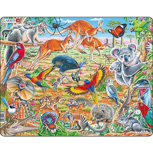 Пазл Larsen Дикие животные Австралии, 60 элементов от Larsen