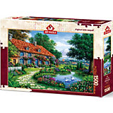 Пазл Art Puzzle Сад с лебедями, 1500 деталей