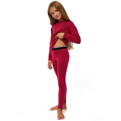 Комплект термобелья Montero City Line Wool Protection - темно-розовый