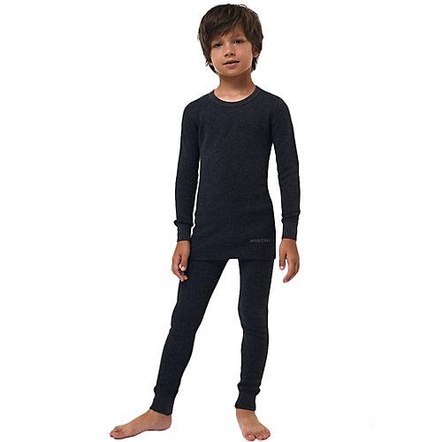 Комплект термобелья Montero Cotton Comfort - темно-серый