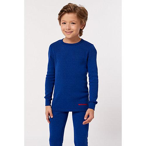 Комплект термобелья Montero Cotton Comfort - синий