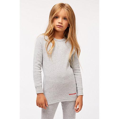 Термобелье для девочек Cotton Comfort Everyday MCLCCEG0102/серый - серый