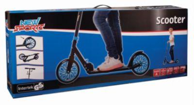Scooter Blau/Schwarz, 200 mm, ABEC 7 bunt