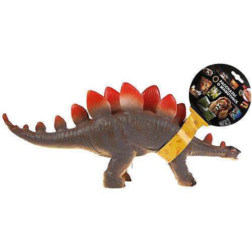 """Игровая фигурка Играем вместе """"Рассказы о животных"""" Динозавр стегозавр, озвученная от Играем вместе"""