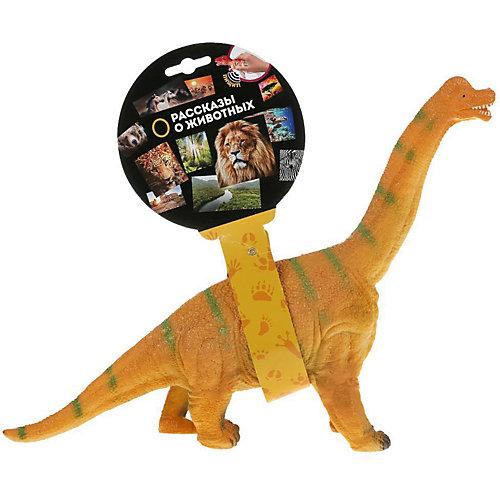 """Игровая фигурка Играем вместе """"Рассказы о животных"""" Динозавр брахиозавр, озвученная от Играем вместе"""