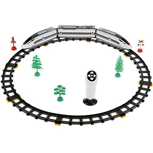 Железная дорога Играем вместе на инфракрасном управлении, 39 деталей от Играем вместе
