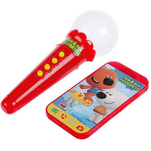 """Игровой набор Умка """"Мимимишки"""" Телефон и микрофон, 6 песен от Умка"""