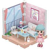 Модульный домик ABtoys Мини-кукла в гостинной, 1 секция