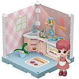 Модульный домик ABtoys Мини-кукла на кухне, 1 секция