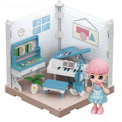 Модульный домик Abtoys Мини-кукла в музыкальной комнате, 1 секция от ABtoys