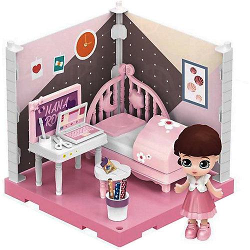 Модульный домик ABtoys Мини-кукла в спальне, 1 секция от ABtoys