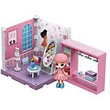 Модульный домик ABtoys Мини-кукла в гардеробной комнате, 1 секция