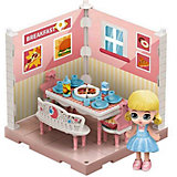 Модульный домик ABtoys Мини-кукла в столовой, 1 секция