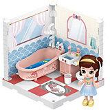Модульный домик ABtoys Мини-кукла в ванной комнате, 1 секция