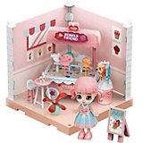 Модульный домик ABtoys Мини-кукла в кондитерской, 1 секция