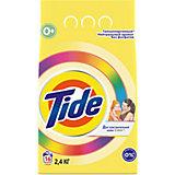 Детский стиральный порошок Tide Color для чувствительной кожи, 2,4 кг