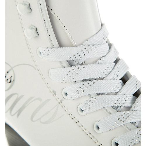 Фигурные коньки Спортивная коллекция Paris lux tricot - белый от Спортивная Коллекция