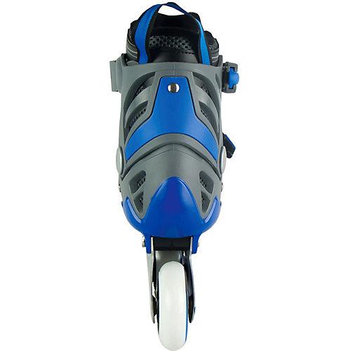 Роликовые коньки трансформеры MaxСity Universal Set Combo - синий от MaxCity